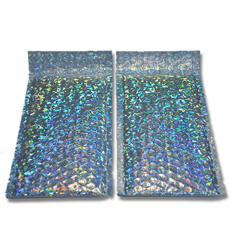 镭射膜复合气泡袋
